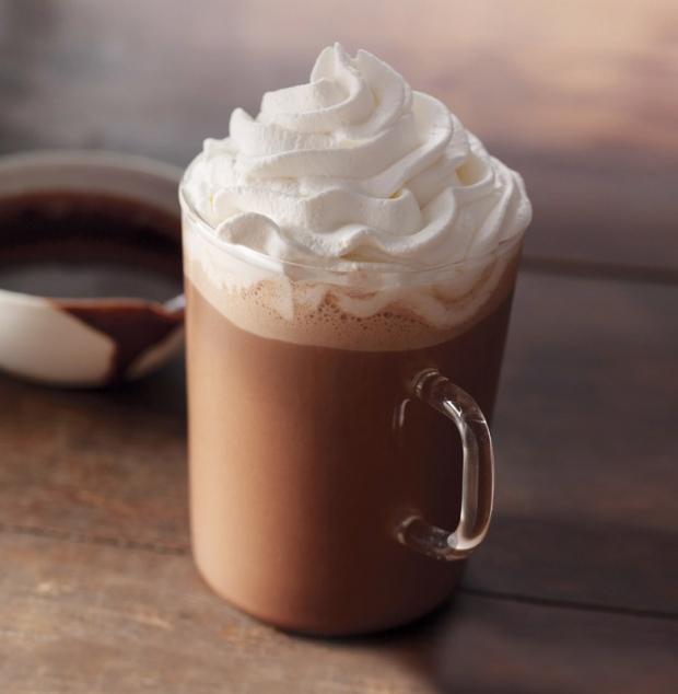 Kahve şurubu ile mocha yapmak